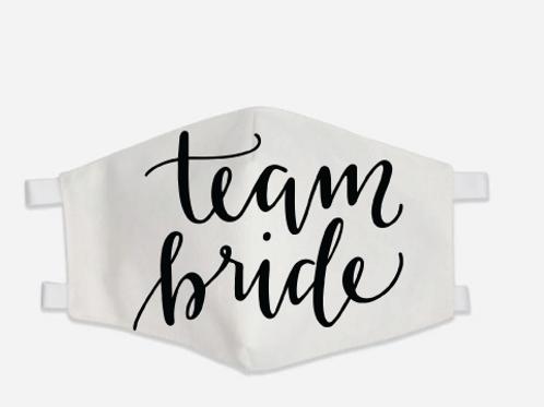 Team Bride Mask