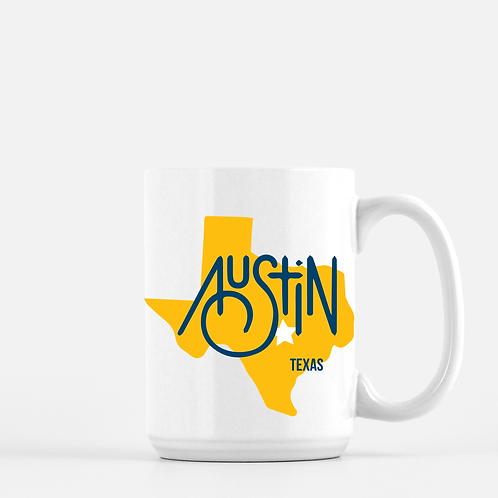 Texas/ Austin Mug