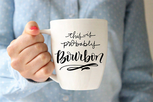 This is probably bourbon mug