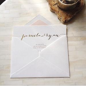 simple and pretty invitation