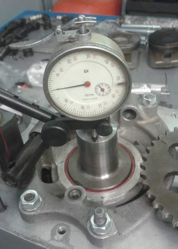 BMW crankshaft freeplay