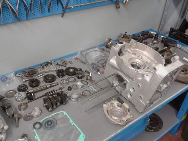 BMW engine overhaul revisione motore