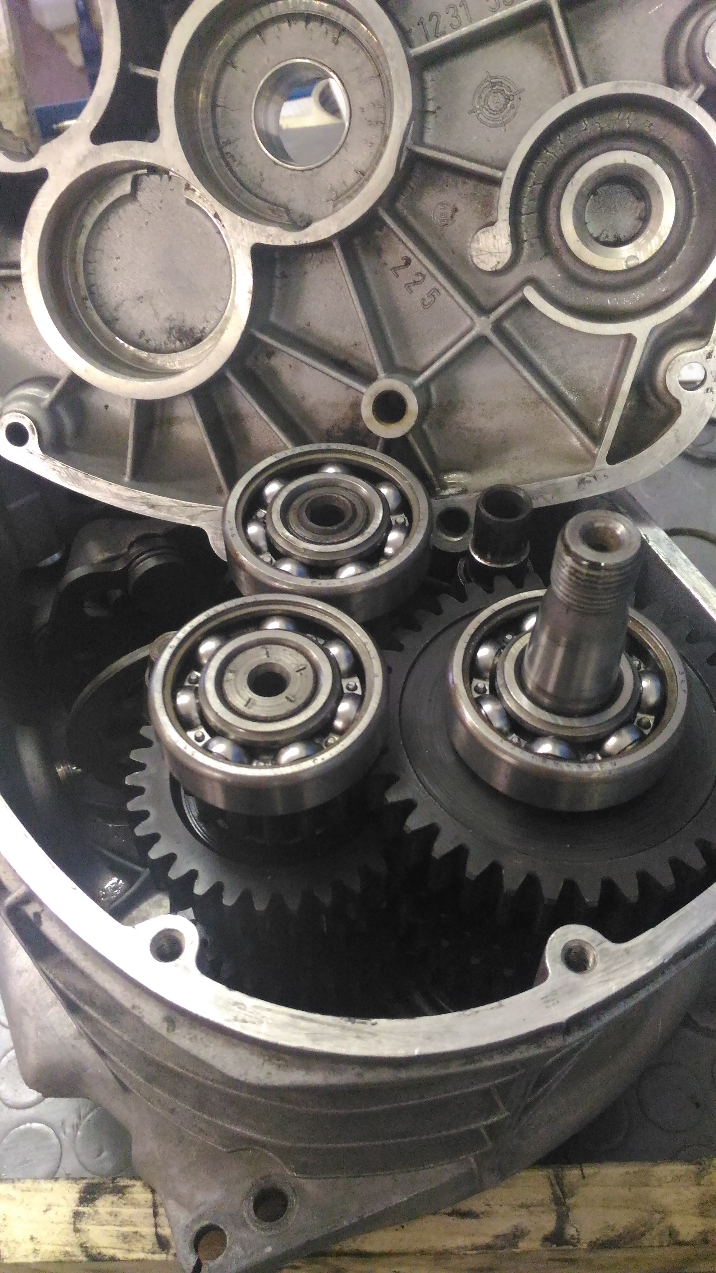 BMW 2V gearbox cambio