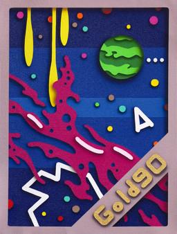 Super Heavy Intergalactic Space Stuff (Gold 90)