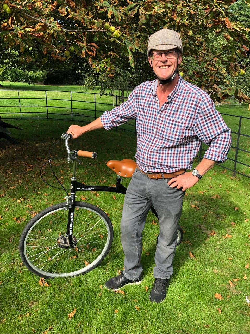 Keith's crazy bike