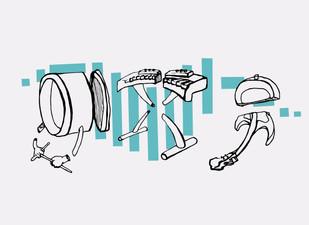 Beat Tape Album Cover & T-Shirt Design