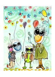 Family Balloon Party