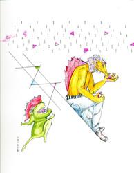 Triangle Rain