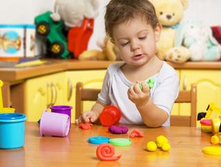 Игры с тестом для малышей