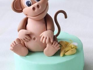Лепим обезьянку, символ 2016 года, вместе с ребенком
