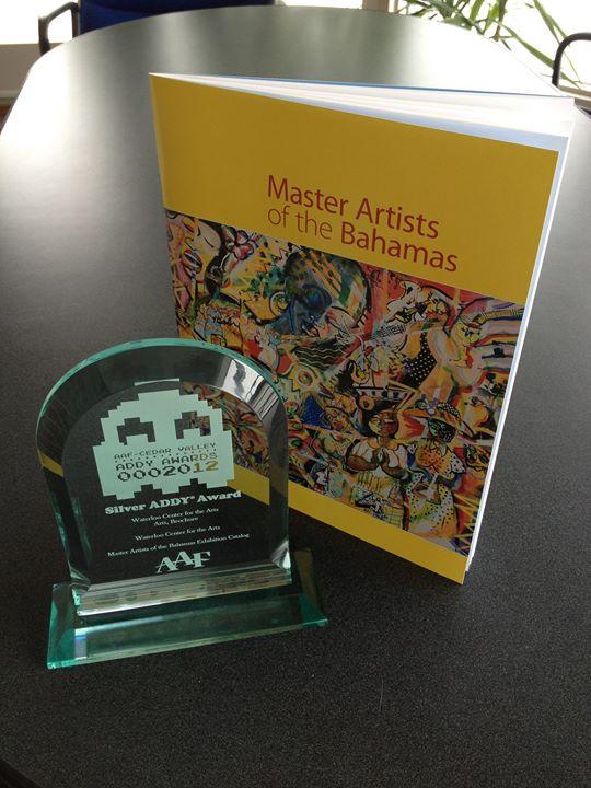 Master Artists of the Bahamas Exhibition Catalog | Silver ADDY Award