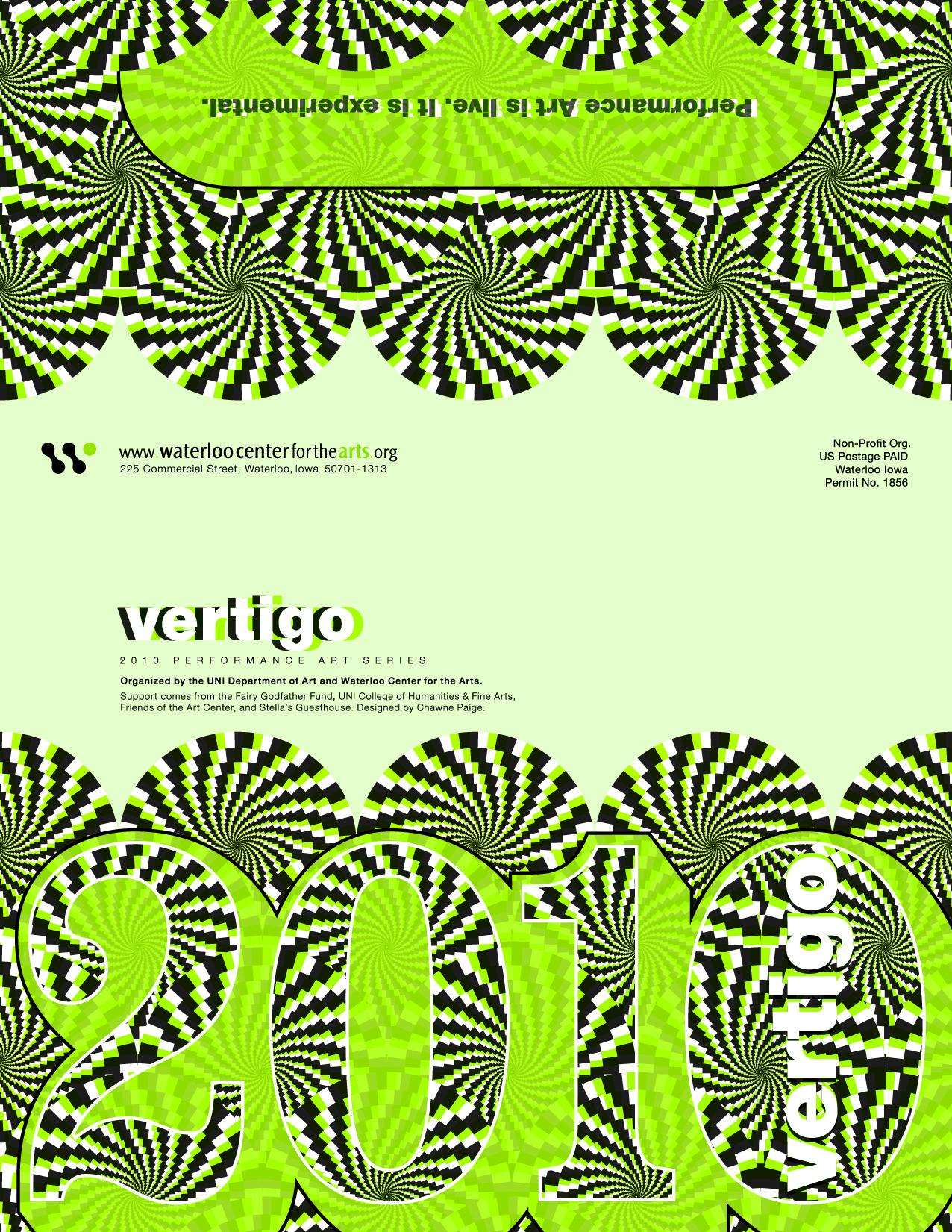 Veritgo 2010, Performance Art Series Poster (side2)
