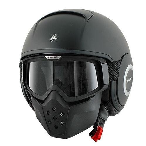 Shark DRAK Openface Helmets Mat Black KMA