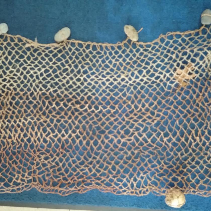 Dogbane fiber net