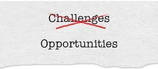 Embrace the Opportunity for Change