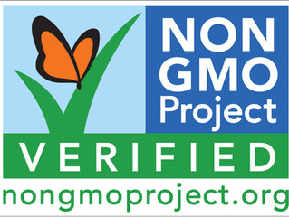 Look for the Butterfly:                            Non-GMO Project Verified