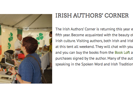 Dublin Ohio Irish Fest August 3, 4, 5th