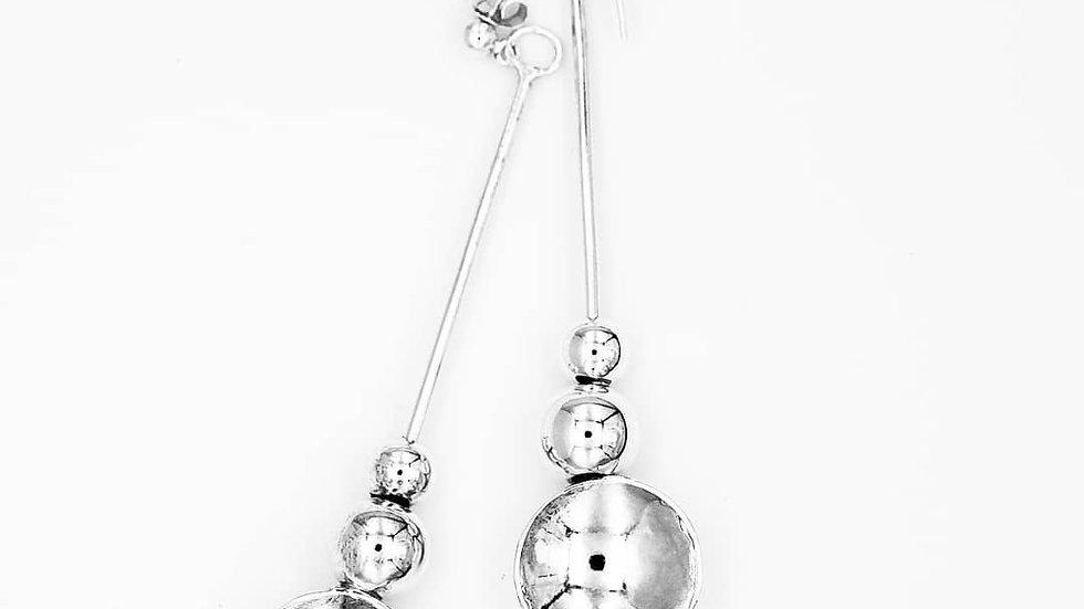 concave earrings