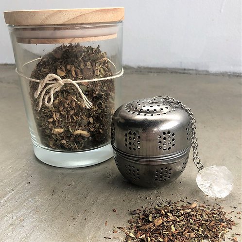 Internal Infusion + Crystal Tea Infuser