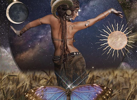 Aries New Moon - Bad jokes, business time, and bluntness.