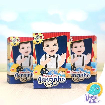 Caixa de Boneco - Fábrica de Brinquedos - 20 unidades