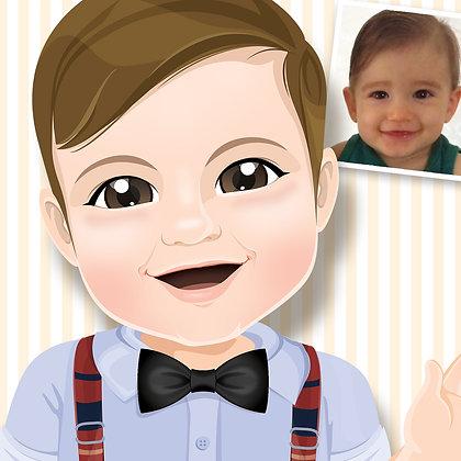 Mascote - Ilustração Personalizada Digital - unitário