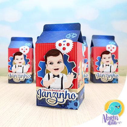 Caixa Milk - Fábrica de Brinquedos - 20 unidades