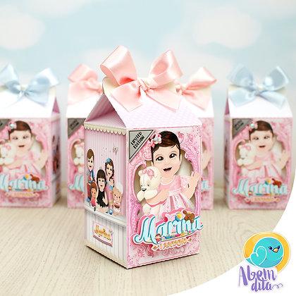Caixa Milk - Boneca - 20 unidades