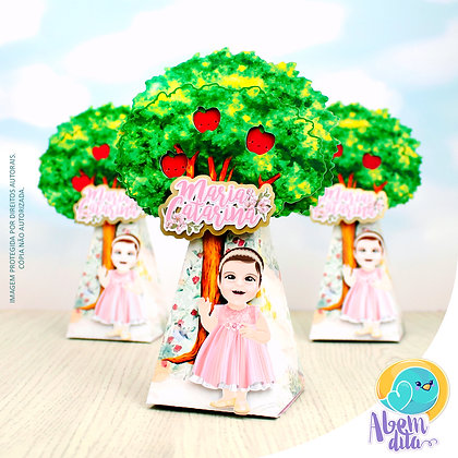 Caixa Árvore - Floresta Encantada - 20 unidades