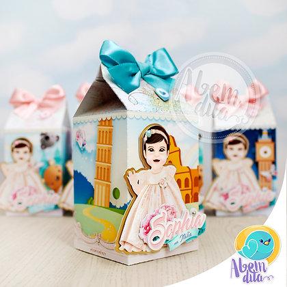 Caixa Milk Itália - Volta ao Mundo da Sophia - 20 unidades