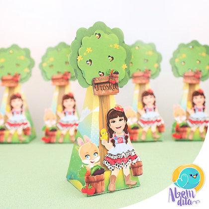Caixa Árvore - Fazendinha - 20 unidades