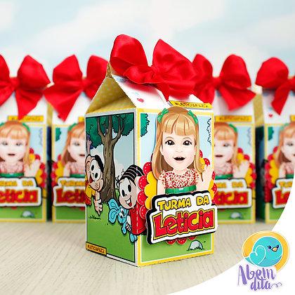 Caixa Milk - Turma da Mônica - 20 unidades