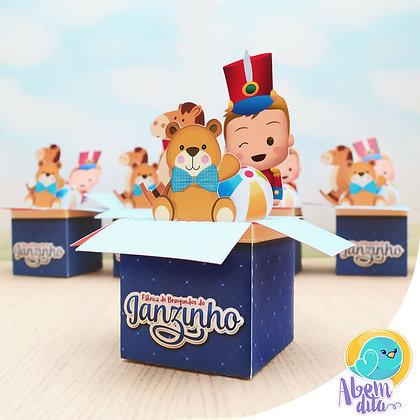 Caixa de Brinquedos - 20 unidades