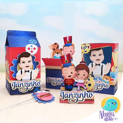 Kit Festa - Fábrica de Brinquedos - 100 itens