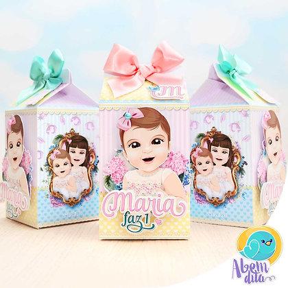 Caixa Milk - Floral - 20 unidades