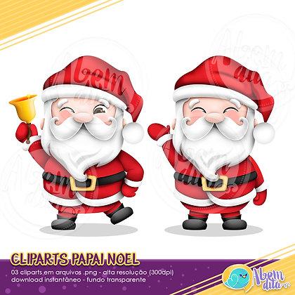 Natal - Papai Noel - Clipart