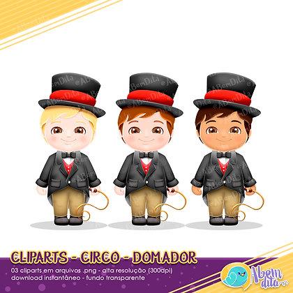 Circo - Domadores - Kit Digital com Cliparts