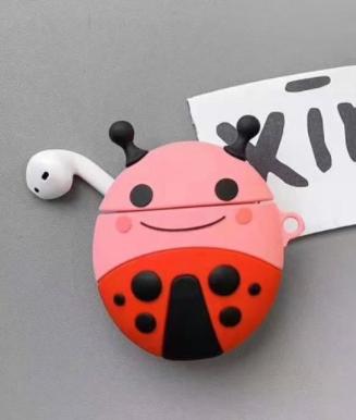 Ladybug Airpods Case