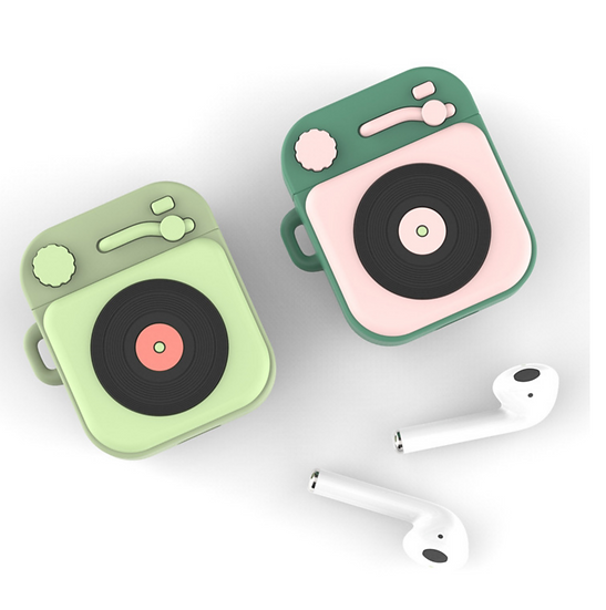 Record Player Airpods Case