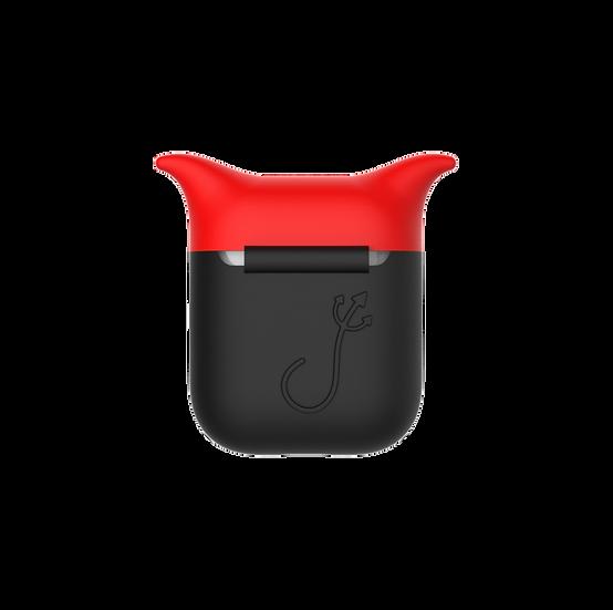 Devil AirPods Case (Black/Red)