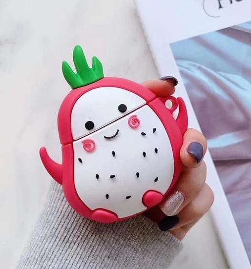 Dragon Fruit Cutie Airpods Case
