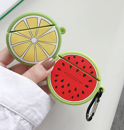 Assorted Fruit AirPods Case