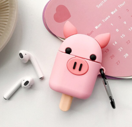 Piggy Popsicle Airpods Case