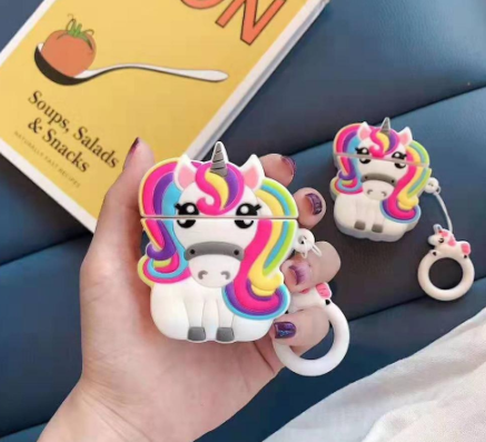 Rainbow Unicorn Airpods Case