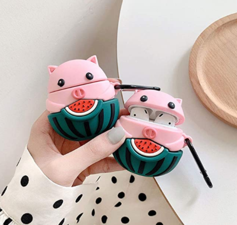 Watermelon Pig Airpods Case