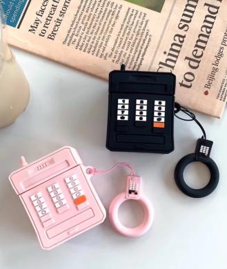 Retro Phone Airpods Case