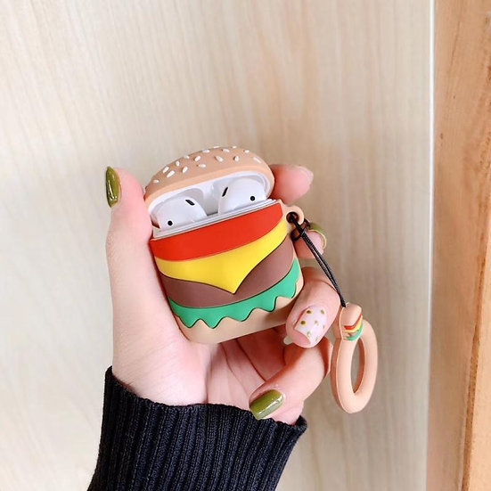 Burger AirPods Case
