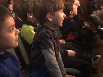 Divadelní návštěva dětí v KC12 Modřany