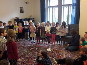 Návštěva a koncert dětí z MŠ Nad Parkem