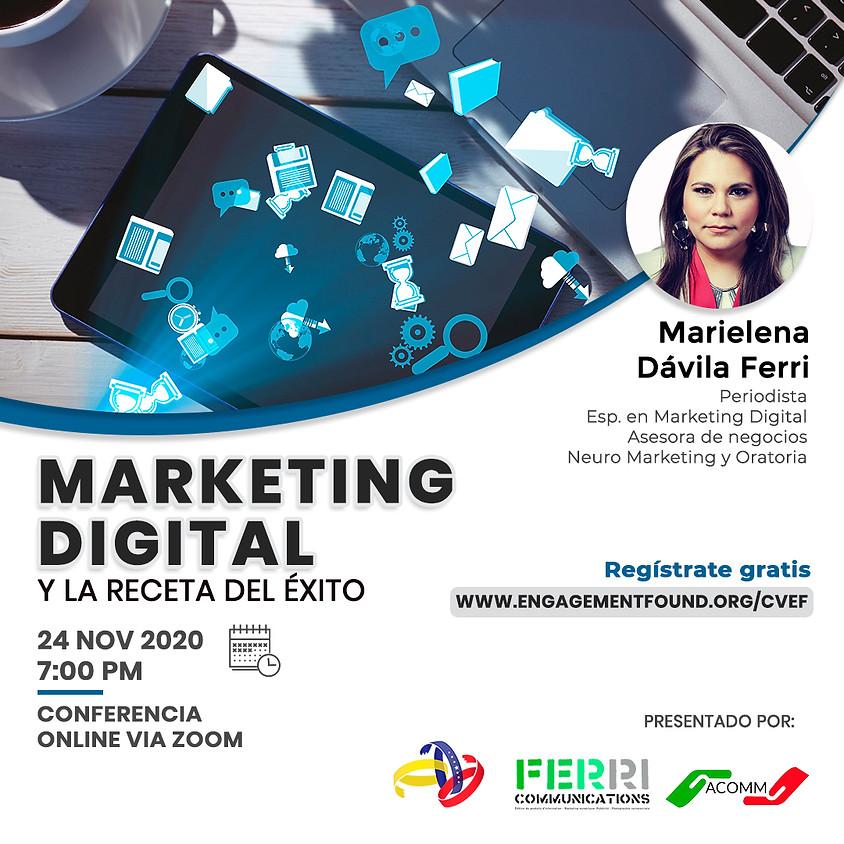 Marketing Digital, La receta del éxito